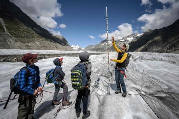 Matthias Huss, témoin vigilant de l'inexorable recul des glaciers suisses)