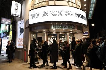 Les théâtres du West End de Londres fermés jusqu'en juin