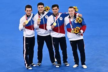 Gymnastique La Russie chipe l'or au Japon par équipes)