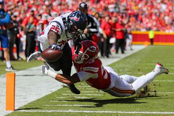 Les Texans tiennent le coup face aux Chiefs