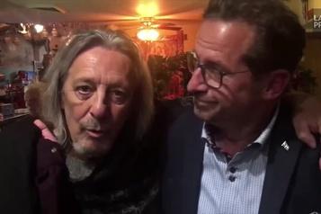 Le chanteur Serge Fiori endosse Yves-François Blanchet et le Bloc Québécois