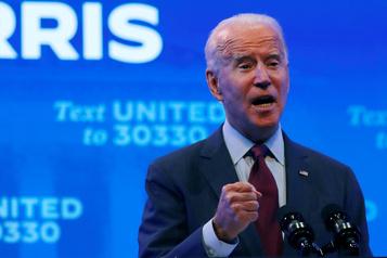 Joe Biden a payé près de 300000$ d'impôts en 2019)