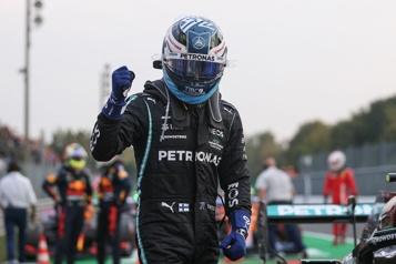 Grand Prix d'Italie Bottas partira premier à la course sprint qualificative)