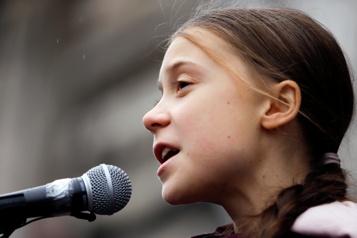 Greta Thunberg accuse les dirigeants d'«ignorer» le changement climatique)