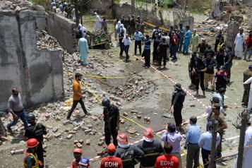 Pakistan Trois morts dans un attentat près du domicile d'un extrémiste)