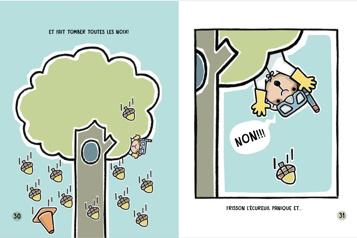 Frisson l'écureuil est de retour… en toute sécurité! )