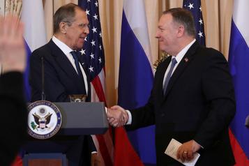 Ingérence électorale: Pompeo menace la Russie de représailles