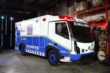 Électrification des transports Il y a les camions, les autobus… et maintenant l'ambulance