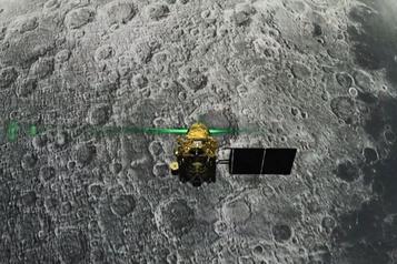 La sonde lunaire indienne Vikram retrouvée parun astronome amateur