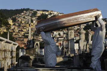 Le Brésil devient le troisième pays le plus contaminé)