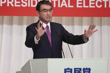 Départ de la course pour le pouvoir au Japon)
