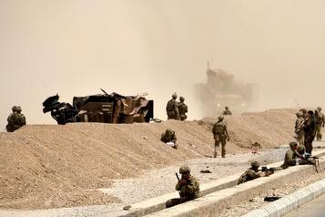 Trêve partielle avec les talibans, accord «très proche» selon Trump