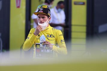 Départ du contre-la-montre au Tour de France)
