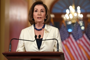 Destitution: Pelosi demande la rédaction de l'acte d'accusation contre Trump