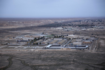 Irak Des Américains attaqués par un drone piégé)
