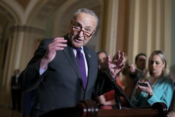 Projet démocrate de réforme électorale Profondes divisions au Sénat après le refus des républicains d'ouvrir le débat)