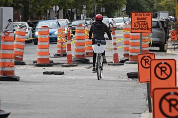 Les aménagements cyclables sur la rue Saint-Zotique repoussés à 2021 )
