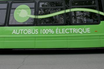 Investissements des villes au Canada Les autobus électriques avant le métro, constate la Banque de l'infrastructure)