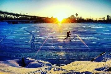 Percé-Montréal à la course en 10jours)