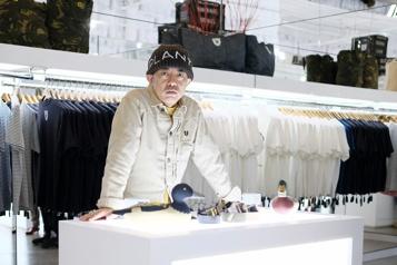 Le styliste Nigo, nouveau directeur artistique de Kenzo)