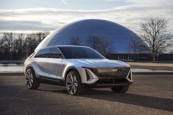 Cadillac lève levoile sur sontout premier modèle électrique)