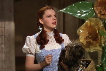 Le Magicien d'Oz La robe de Judy Garland retrouvée dans un sac-poubelle)