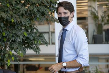 Rencontre éditoriale avec La Presse Trudeau joue sa carte verte )