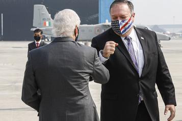Inde Pompeo et Esper viennent conforter l'alliance contre la Chine)
