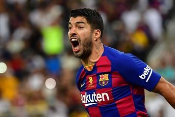 Luis Suarez rejoint l'Atlético Madrid)