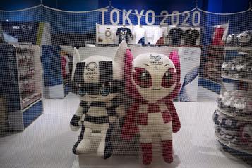 Tokyo2020 fermera cinq boutiques de souvenirs)