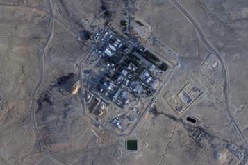 Israël signale un missile lancé depuis la Syrie)