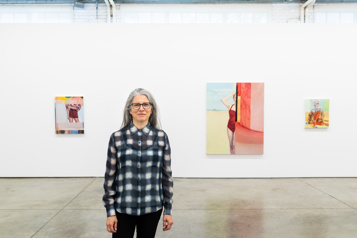 Janet Werner Des femmes, une grande peintre)