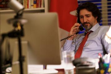 Réunion bilatérale virtuelle Une première rencontre entre Trudeau et Biden prévue mardi)