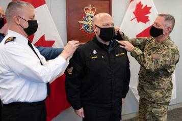 Craig Baines est le nouveau commandant de la Marine royale)