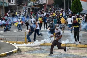La ville de Cali incarne la colère d'une Colombie en crise)