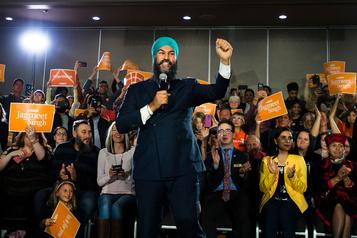 Jagmeet Singh se dit fier de sa campagne