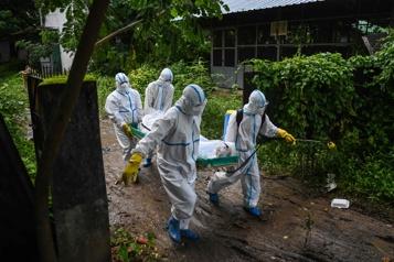 COVID-19 La situation en Birmanie est «désespérée», prévient le Royaume-Uni à l'ONU)