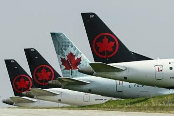 AirCanada réclame l'allègement des restrictions sanitaires de voyage )
