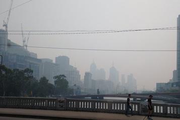 Internationaux d'Australie: la fumée affecte les séances d'entraînement
