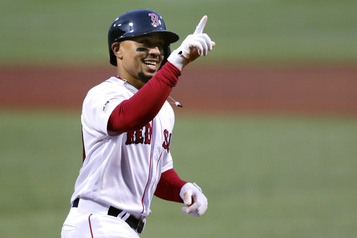 Mookie Betts obtient 27 millions avec les Red Sox