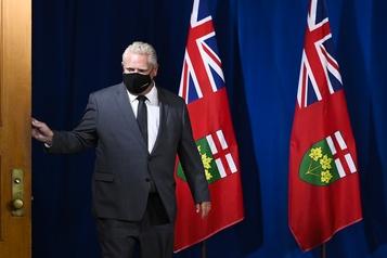 COVID-19 en Ontario La deuxième vague pourrait être pire que la première, dit Doug Ford)