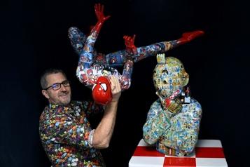 Un sculpteur s'inspirant de Tintin poursuivi en France par les héritiers d'Hergé)