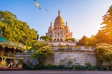 Le Sacré-Cœur de Montmartre inscrit aux monuments historiques)