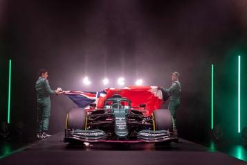 Dévoilement de la nouvelle Aston Martin Les rêves de Lawrence Stroll)