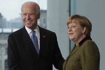 Angela Merkel invite Joe Biden en Allemagne)