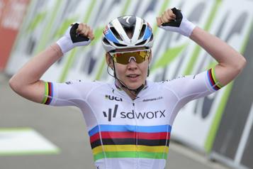 Tour de Burgos La coéquipière de Karol-Ann Canuel réussit le doublé)