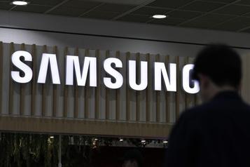 Samsung Electronics prévoit une hausse de 23% de son bénéfice)