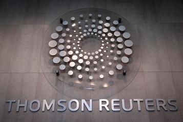 Les revenus de Thomson Reuters glissent de 1%)