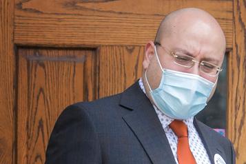 Joe Ortona, candidat pour l'équipe Coderre Congédié desonposte deprocureur à laVille en 2016)
