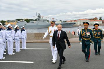 La flotte russe capable de détruire «n'importe quelle cible», selon Poutine)